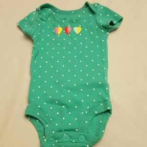 BOGO FREE Carter's Bodysuit Hearts and Polka-dots